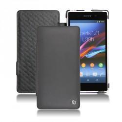 Sony Xperia Z1 leather case