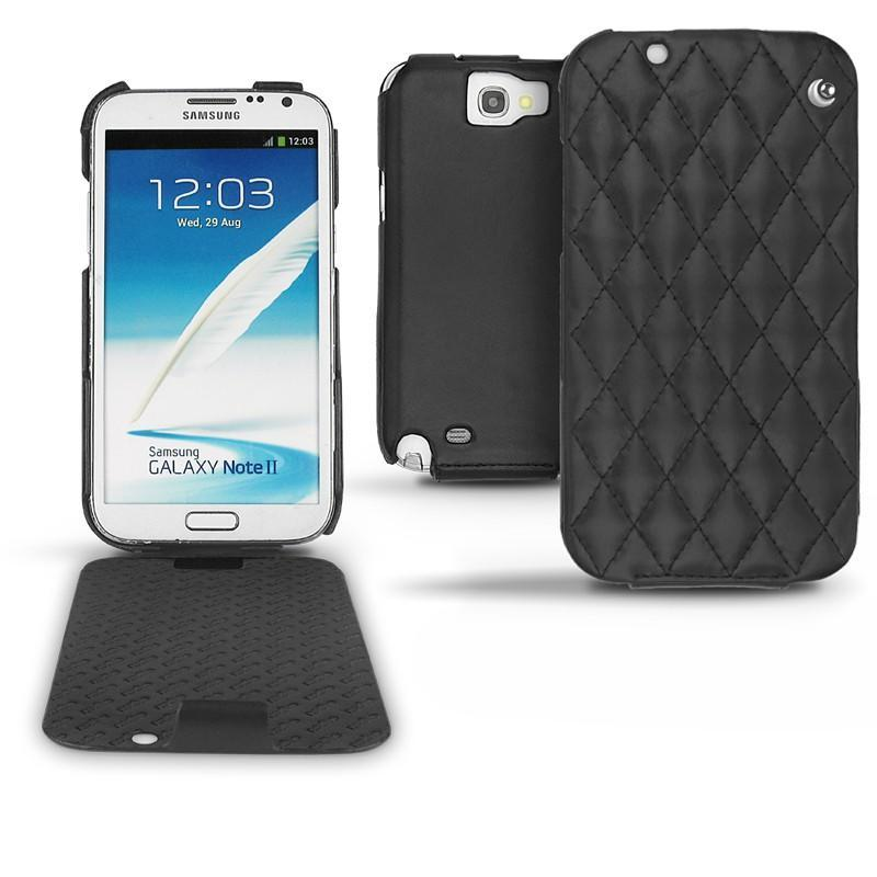 Samsung galaxy note 2 leather case for Housse samsung galaxy note