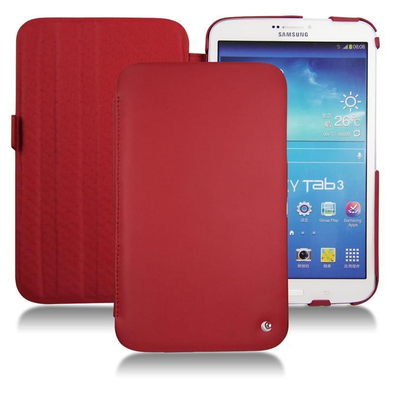 Samsung galaxy tab 3 8 0 leather case for Housse galaxy tab e