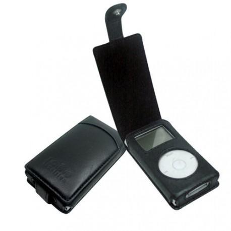 Etui en cuir Apple Mini iPod  - Noir ( Nappa - Black )