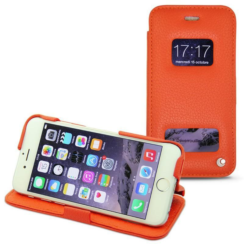 Housse cuir Apple iPhone 6