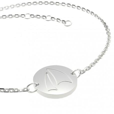 Bracelet en argent pour femme