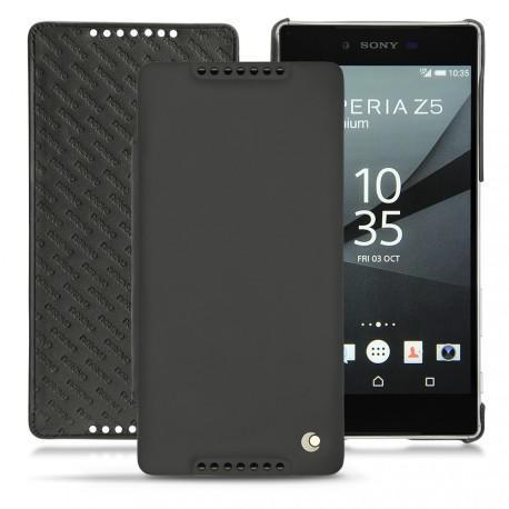 Housse cuir Sony Xperia Z5 Premium