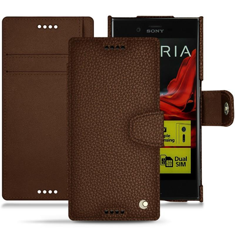 Sony Xperia XZ leather case