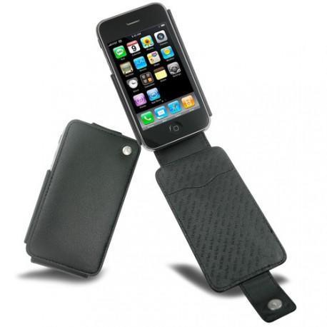 Capa em pele Apple iPhone 3G  - Noir ( Nappa - Black )