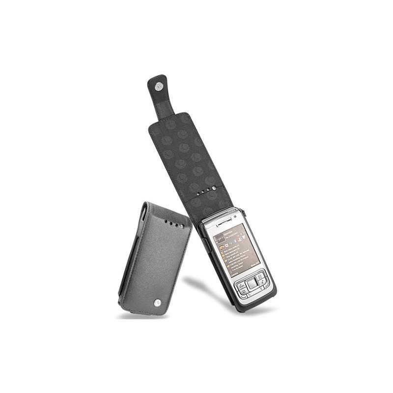 Nokia E65 leather case