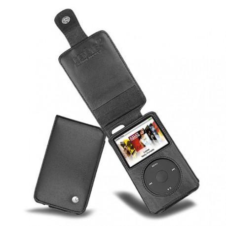Apple iPod Classic 80 - 120 - 7G 160Gb  leather case - Noir ( Nappa - Black )