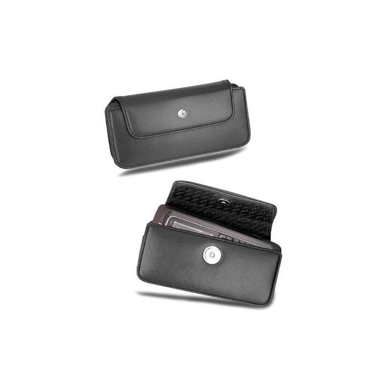Nokia E90 leather pouch