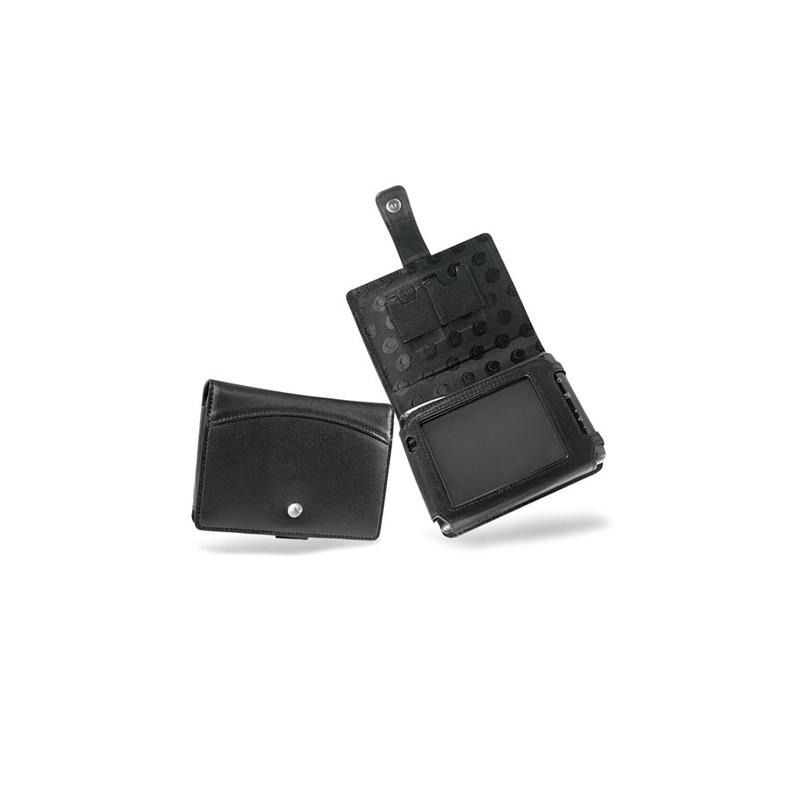 Mio C310 - C510 - C710 leather case