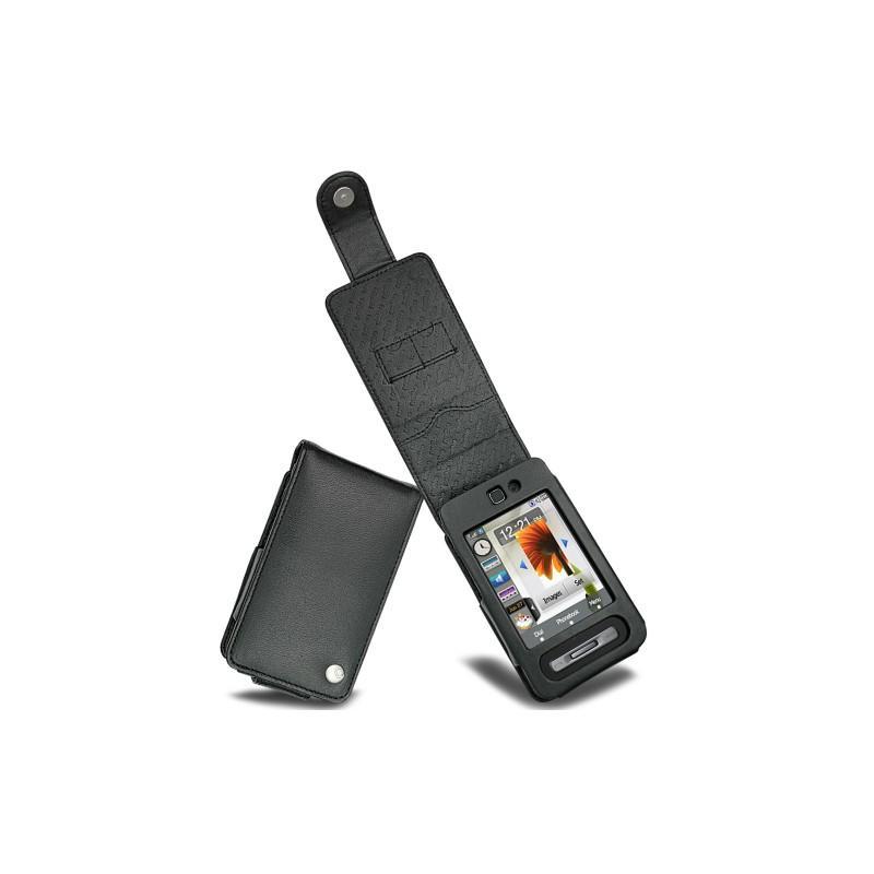 Samsung SGH-F480 leather case