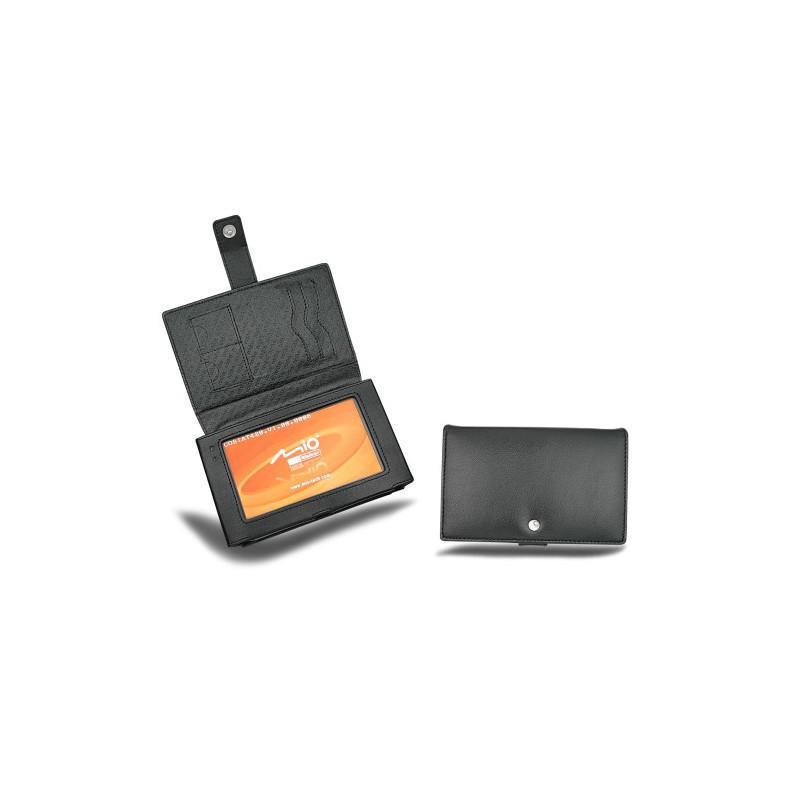 Mio Moov 310 - 330 - 370 leather case