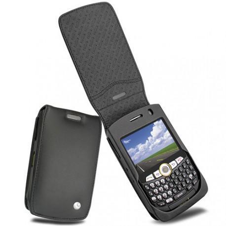 Housse cuir BlackBerry Curve 8350i  - Noir ( Nappa - Black )
