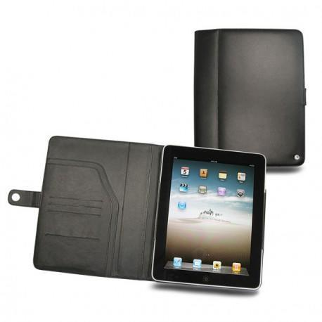 Apple iPad  leather case - Noir ( Nappa - Black )