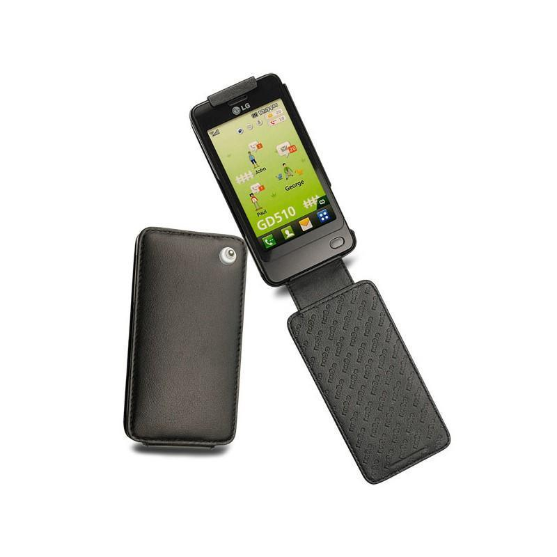 LG GD510 Pop leather case