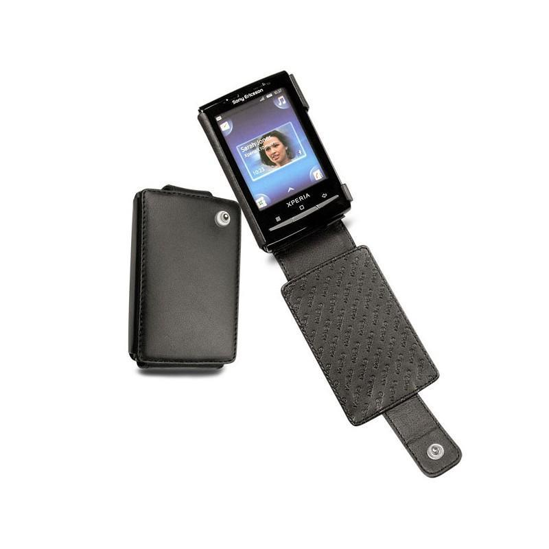 Sony Ericsson Xperia X10 mini leather case