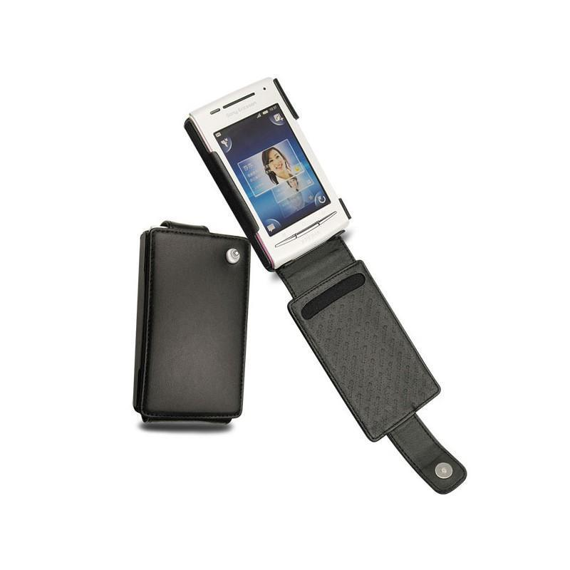 Sony Ericsson Xperia X8 leather case