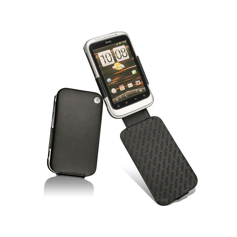 HTC Wildfire S leather case
