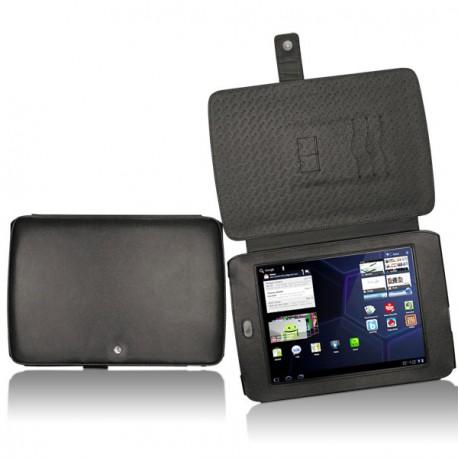 Archos 80 G9  leather case - Noir ( Nappa - Black )