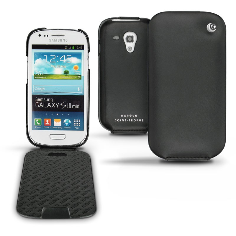 Samsung GT-i8190 Galaxy S III mini leather case