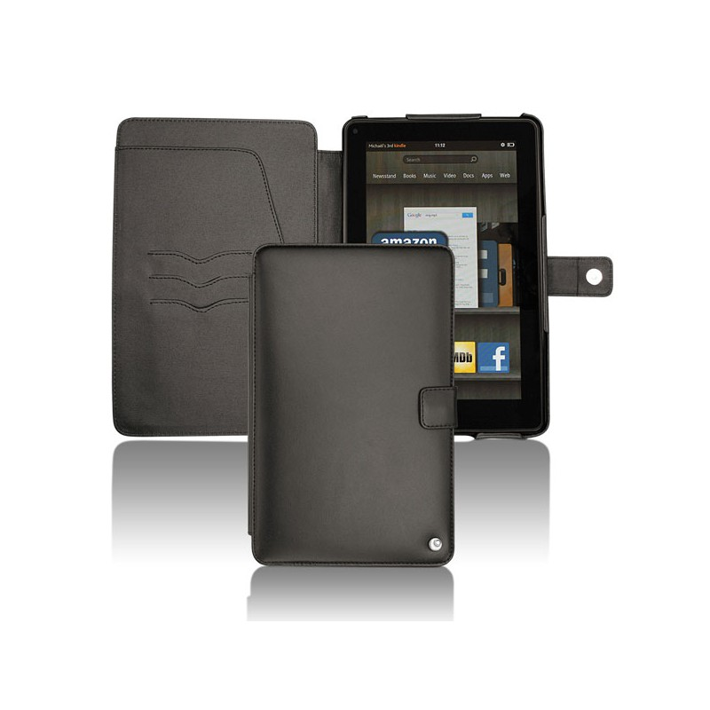 Amazon Kindle Fire leather case