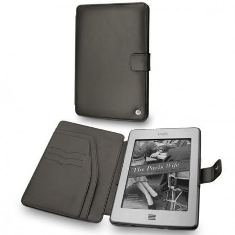 Amazon Kindle Touch  leather case - Noir ( Nappa - Black )