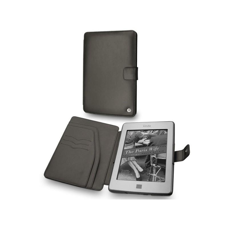 Amazon Kindle Touch leather case