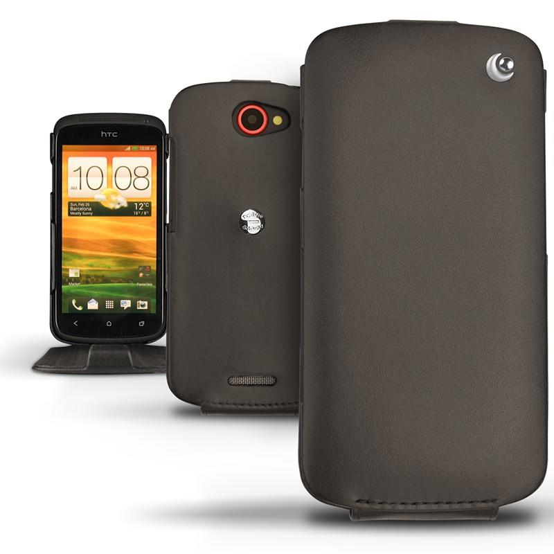 HTC One S leather case