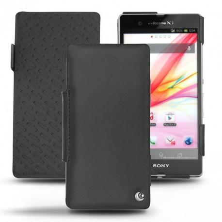 Sony Xperia Z leather case