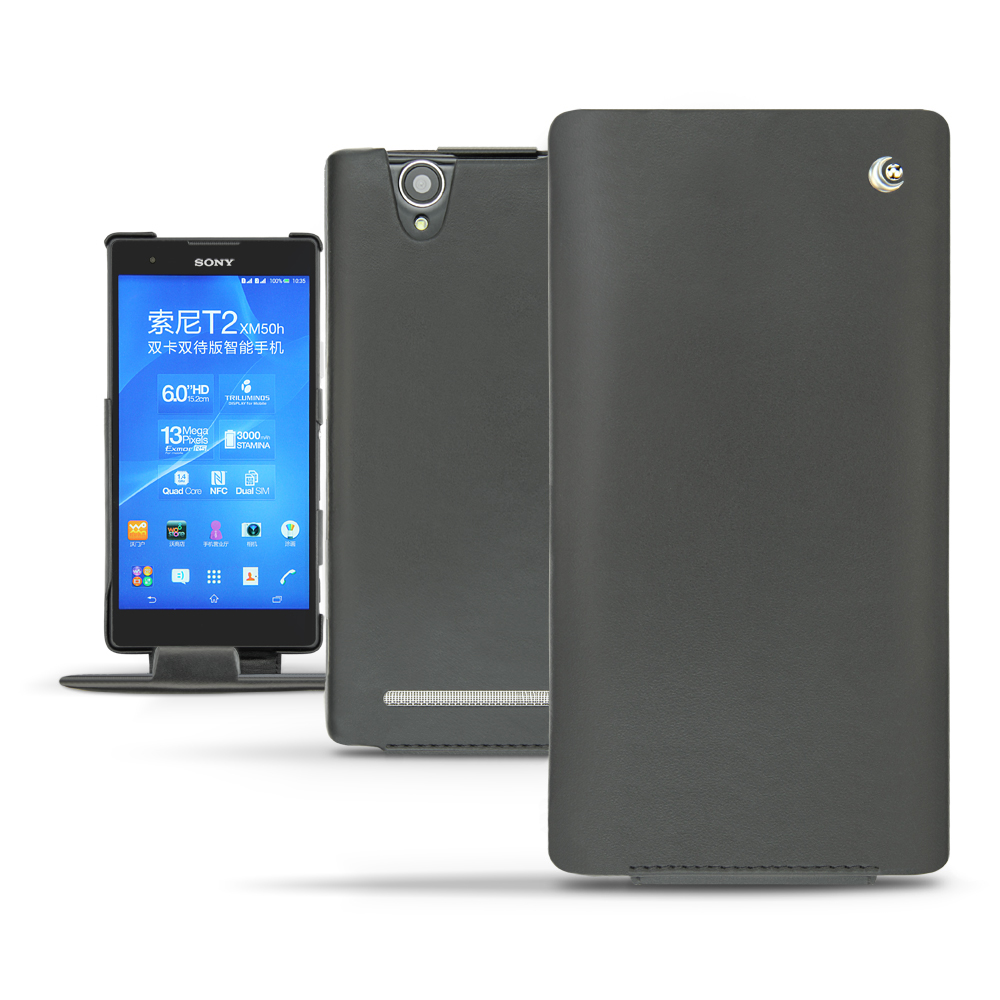 Sony Xperia T2 Ultra Tradition leather case
