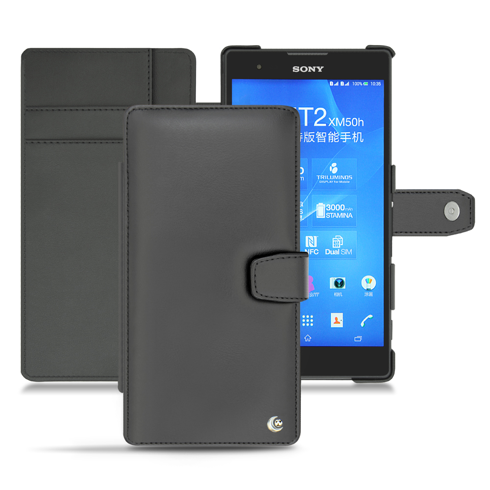Sony Xperia T2 Ultra Tradition B leather case