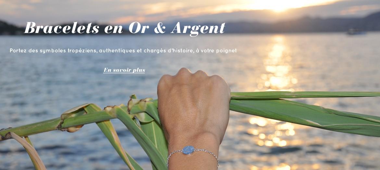 Bracelets en Or & Argent