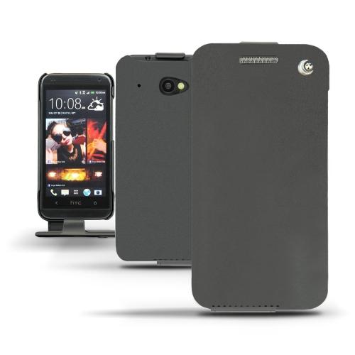 Housse cuir HTC Desire 601  - Noir ( Nappa - Black )