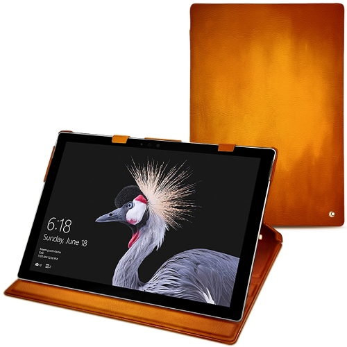 Microsoft Surface Pro 6 leather case