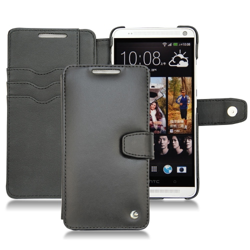 Housse cuir HTC One Max - Noir ( Nappa - Black )