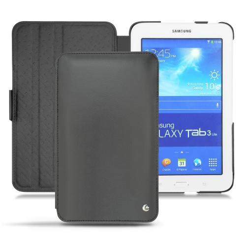Samsung sm t110 galaxy tab 3 lite 7 0 leather covers and for Housse galaxy tab e