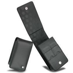 Etui cuir Sony Cyber-shot DSC-T - N - W Series  - Noir ( Nappa - Black )