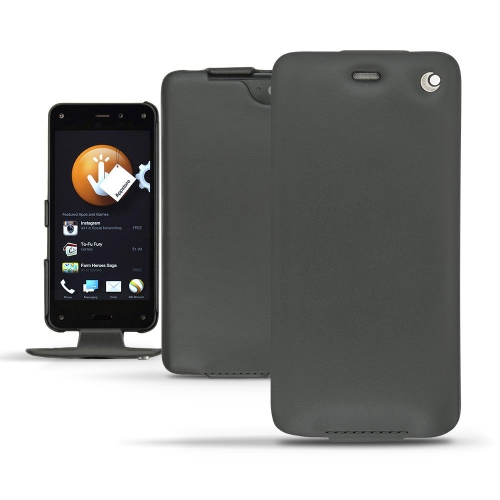 가죽 커버 Amazon Fire Phone  - Noir ( Nappa - Black )