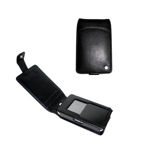 Etui cuir Philips HDD6320 - HDD6330  - Noir ( Nappa - Black )