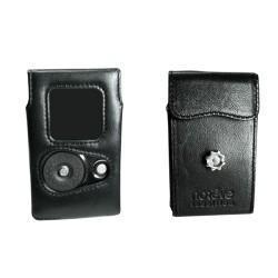 Etui cuir Thomson RCA Lyra  - Noir ( Nappa - Black )