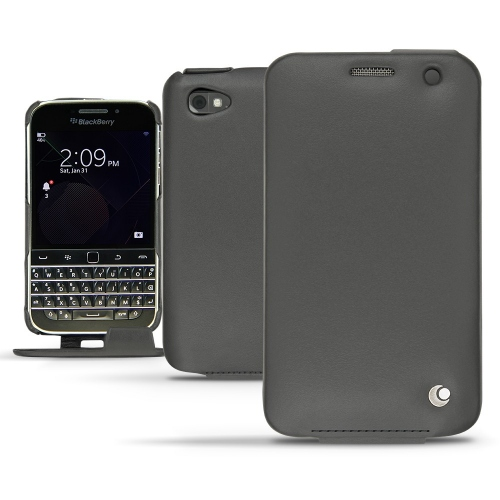 Housse cuir Blackberry Classic - Noir ( Nappa - Black )