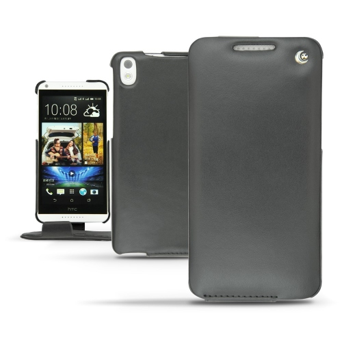 Housse cuir HTC Desire 816  - Noir ( Nappa - Black )