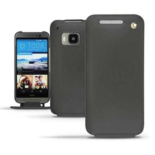 Housse cuir HTC One M9 - Noir ( Nappa - Black )