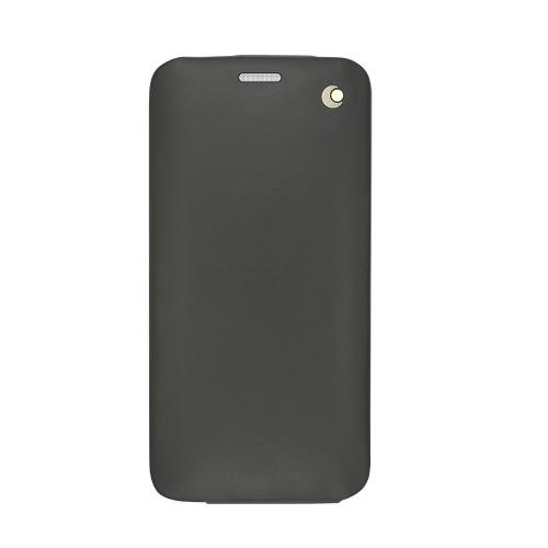 Housse cuir Samsung Galaxy S6 Edge