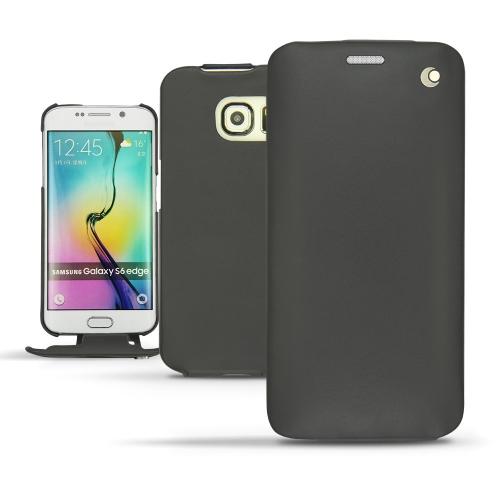 硬质真皮保护套 Samsung Galaxy S6 Edge - Noir ( Nappa - Black )