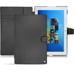 Housse cuir Sony Xperia Z4 Tablet - Noir ( Nappa - Black )