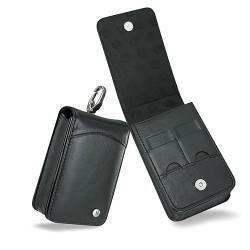 Housse cuir Sony Cyber-shot DSC-T50  - Noir ( Nappa - Black )