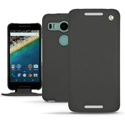 Housse cuir LG Nexus 5X - Noir ( Nappa - Black )