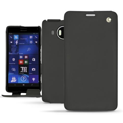 レザーケース Microsoft Lumia 950 XL - 950 XL Dual Sim - Noir ( Nappa - Black )