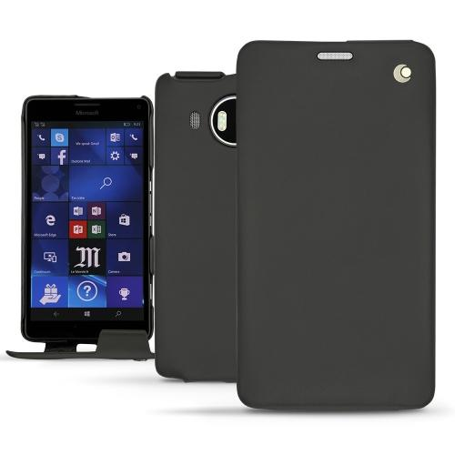 Lederschutzhülle Microsoft Lumia 950 XL - 950 XL Dual Sim - Noir ( Nappa - Black )