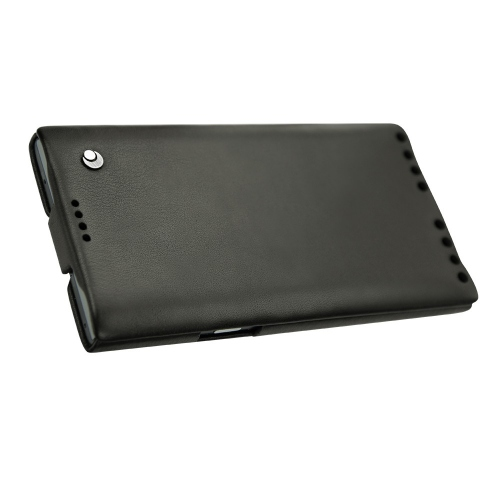 Housse cuir Blackberry Priv